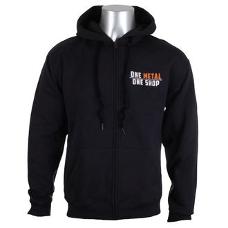 sweat-shirt avec capuche pour hommes - Black - METALSHOP, METALSHOP