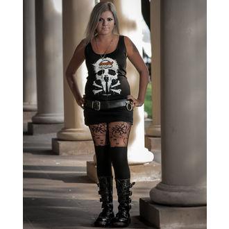 débardeur pour femmes Metalshop - Noire, METALSHOP