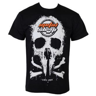 tee-shirt pour hommes Metalshop - Noire, METALSHOP