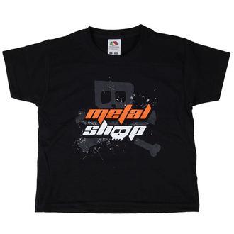 tee-shirt enfants Metalshop - Noire, METALSHOP