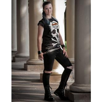 tee-shirt métal pour femmes - Black - METALSHOP, METALSHOP