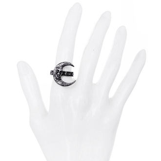 anneau RESTYLE - Skull Moon Silver, RESTYLE