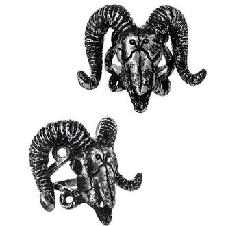 anneau RESTYLE - Ram Skull Silver, RESTYLE