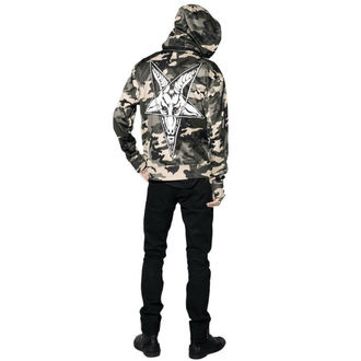veste printemps / automne pour hommes - Baphomet Camo - BLACK CRAFT, BLACK CRAFT