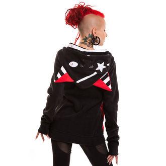 sweat-shirt avec capuche pour femmes - Star Kitty - BYE BYE KITTY - POI107