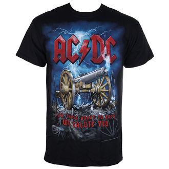 tee-shirt métal pour hommes AC-DC - Cannon Carnage - LIQUID BLUE, LIQUID BLUE, AC-DC