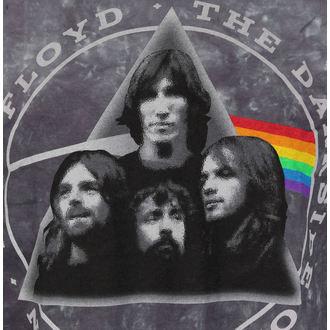 tee-shirt métal pour hommes Pink Floyd - Dark Side Group Tie-Dye - LIQUID BLUE, LIQUID BLUE, Pink Floyd