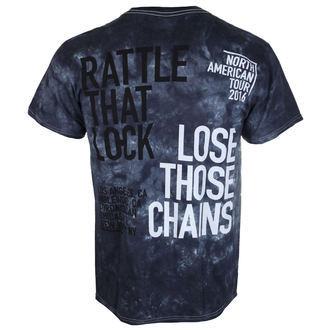 tee-shirt métal pour hommes Pink Floyd - Rattle That Lock - LIQUID BLUE, LIQUID BLUE, Pink Floyd