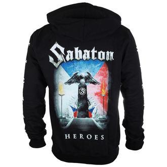 sweat-shirt avec capuche pour hommes Sabaton - Heroes Czech republic - CARTON, CARTON, Sabaton