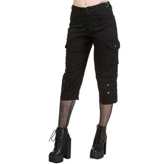 pantalon pour femmes 3/4 DEAD THREADS, DEAD THREADS