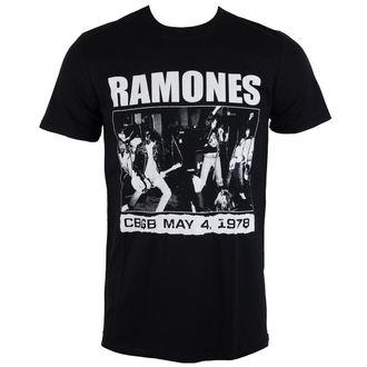 tee-shirt métal pour hommes Ramones - CBGBS 1978 - ROCK OFF, ROCK OFF, Ramones