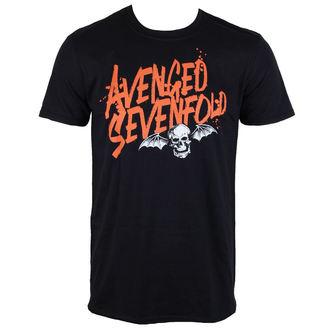 tee-shirt métal pour hommes Avenged Sevenfold - LOGO - ROCK OFF, ROCK OFF, Avenged Sevenfold