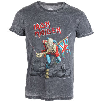 tee-shirt métal pour hommes Iron Maiden - Trooper - ROCK OFF, ROCK OFF, Iron Maiden