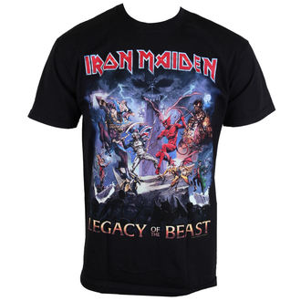 tee-shirt métal pour hommes Iron Maiden - Legacy Of The Beast - ROCK OFF, ROCK OFF, Iron Maiden