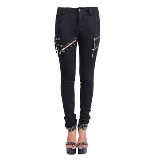 pantalon pour femmes DEVIL FASION - Gothic Salem, DEVIL FASHION
