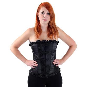 corset pour femmes VOODOO VIXEN - Noire, JAWBREAKER