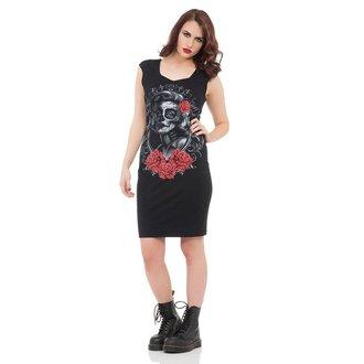 robe pour femmes VOODOO VIXEN - Noire Marlyn, JAWBREAKER