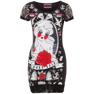 robe pour femmes JAWBREAKER - Noir / Rouge Rose, JAWBREAKER