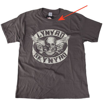 tee-shirt pour hommes Lynyrd Skynyrd - Biker Patch - LIVE NATION - ENDOMMAG