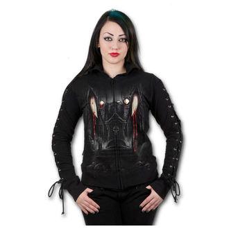 sweat-shirt avec capuche pour femmes - Vamp Fangs - SPIRAL
