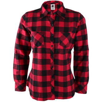 chemise pour femmes ROTHCO - PLAID - RED, ROTHCO