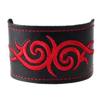 bracelet Tribal - Rouge, BLACK & METAL