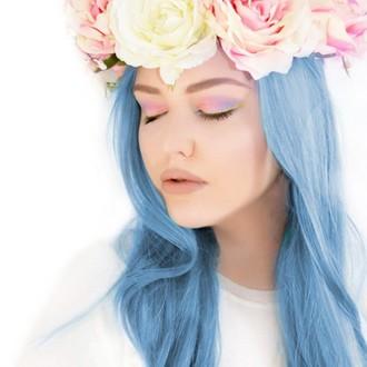 cheveux colorant MANIC PANIC - Classic - Bleu  Ange , MANIC PANIC