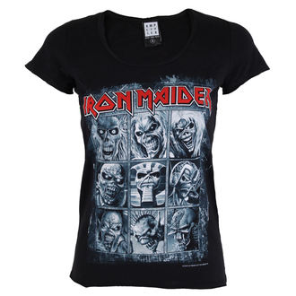 tee-shirt métal pour femmes Iron Maiden - EDDIES - AMPLIFIED, AMPLIFIED, Iron Maiden