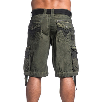 short hommes AFFLICTION - Rusted Template - MG, AFFLICTION