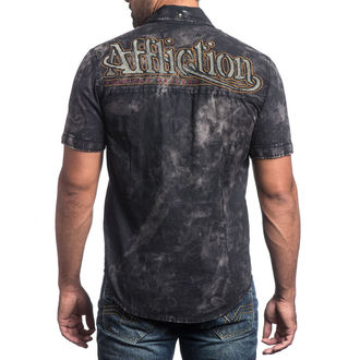chemise hommes AFFLICTION - No Rival - BK, AFFLICTION