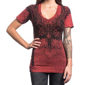 t-shirt hardcore pour femmes - Debonair - AFFLICTION, AFFLICTION