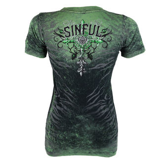 t-shirt hardcore pour femmes - Sinful Undying - AFFLICTION, AFFLICTION