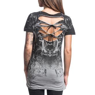 t-shirt hardcore pour femmes - Sinful Vaudeville - AFFLICTION, AFFLICTION