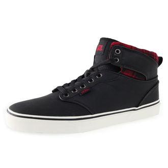 chaussures de tennis montantes pour hommes - Atwood HI (Flannel) - VANS, VANS