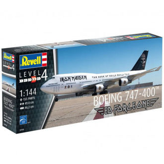 modèle Iron Maiden - Model Kit 1/144 Boeing 747-400, Iron Maiden