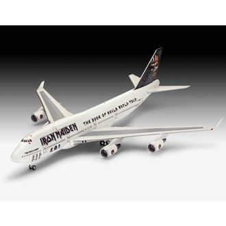 modèle Iron Maiden - Model Kit 1/144 Boeing 747-400, NNM, Iron Maiden