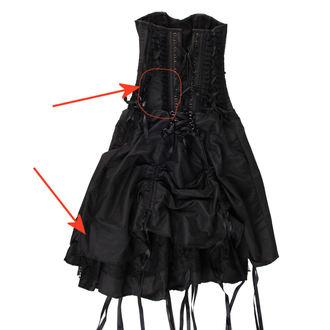robe femmes Burlesque - Black - ENDOMMAGÉ