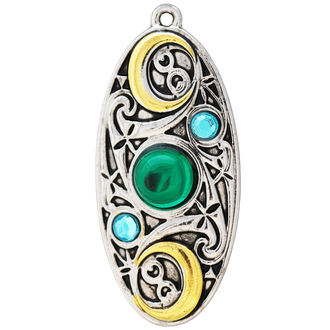 pendentif EASTGATE RESSOURCE - Moon Shield, EASTGATE RESOURCE
