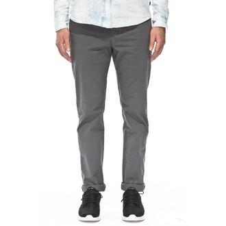 pantalon hommes GLOBE - Goodstock Chino - gris - GB01216010-GRY