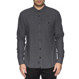 chemise hommes GLOBE - Barkly LS -Grey Marle, GLOBE