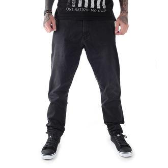 pantalon hommes GLOBE - Select Loose Taper - Cru Noir, GLOBE