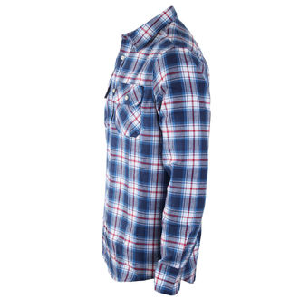 chemise hommes INDEPENDENT - Faction Blue Check, INDEPENDENT