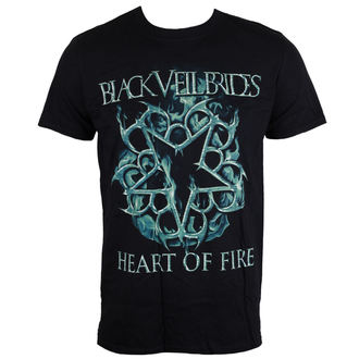 tee-shirt métal pour hommes Black Veil Brides - Heart Of Fire - LIVE NATION, LIVE NATION, Black Veil Brides
