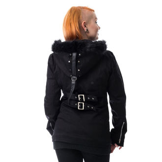 manteau pour femmes HEARTLESS - SARA - NOIR, HEARTLESS