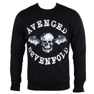 sweat-shirt sans capuche pour hommes Avenged Sevenfold - Classic Deathbat - ROCK OFF, ROCK OFF, Avenged Sevenfold