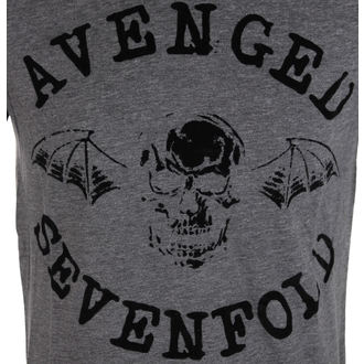 tee-shirt métal pour hommes Avenged Sevenfold - Classic Deathbat Acid Wash - ROCK OFF, ROCK OFF, Avenged Sevenfold
