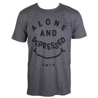 tee-shirt métal pour hommes Bring Me The Horizon - Alone And Depressed - ROCK OFF, ROCK OFF, Bring Me The Horizon
