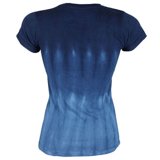 tee-shirt métal pour femmes Lynyrd Skynyrd - Skynyrd Stars Tie-Dye Juniors - LIQUID BLUE, LIQUID BLUE, Lynyrd Skynyrd