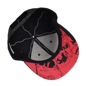 casquette Metallica - Red Damage - Noir - ATMOSPHERE, NNM, Metallica