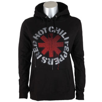 sweat-shirt avec capuche pour femmes Red Hot Chili Peppers - Stencil Asterisk -, Red Hot Chili Peppers
